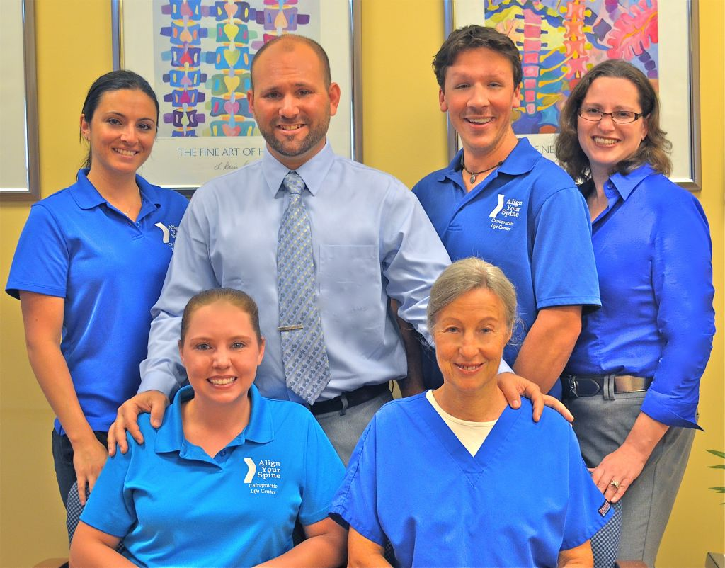 The staff at Align Your Spine Chiropractic